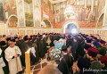 Церемония прощания с митрополитом Владимиром в Киево-Печерской лавре