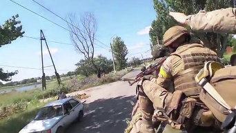 Освобождение Славянска. Видео