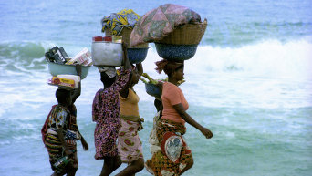 Нигерийки. Архивное фото