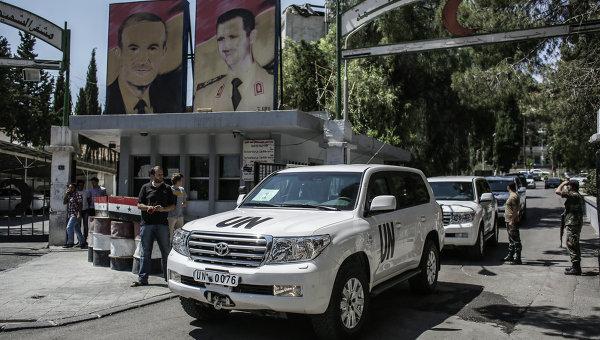 Инспекторы ООН по химоружию в Сирии