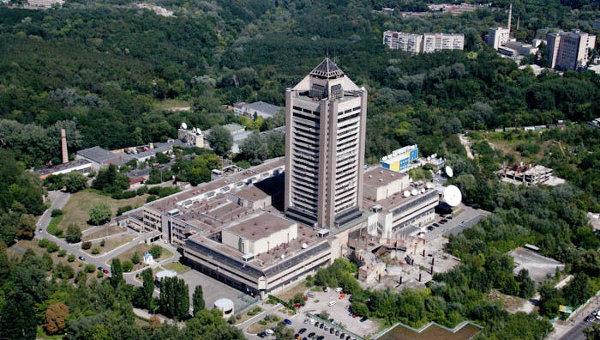Киев - здание телецентра