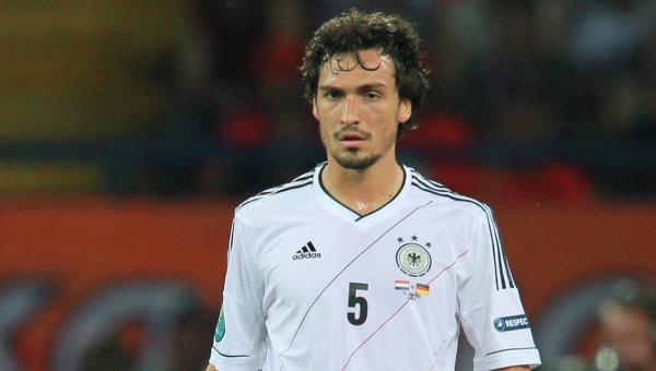 Игрок сборной Германии Матс Хуммельс. Архивное фото