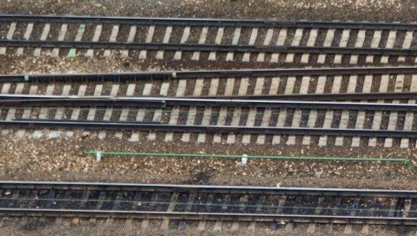 Вид на железную дорогу. Архивное фото