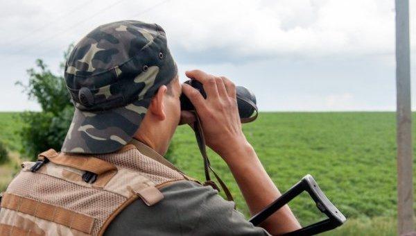 Военные патрулируют границу. Архивное фото