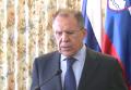 Лавров устал наблюдать за обсуждением санкций вместо Украины. Видео
