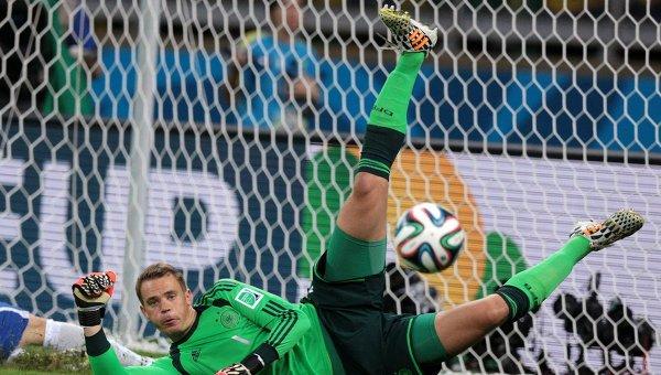 Вратарь сборной Германии Мануэль Нойер. Архивное фото