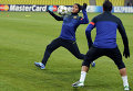 Футбол. Тренировка ФК Барселона