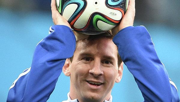 Игрок сборной Аргентины Лионель Месси