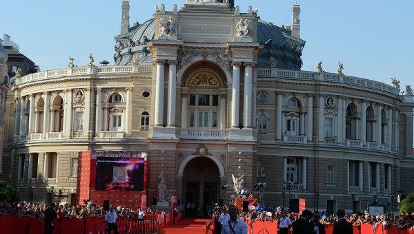 Открытие Одесского кинофестиваля. Архивное фото