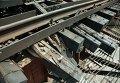 Неизвестные взорвали железнодорожный мост в Запорожской области
