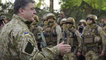 Президент Петр Порошенко посетил Славянск