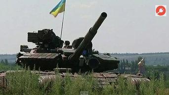 Армия окружает Донецк. Видео