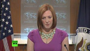 Псаки отказалась комментировать шпионский скандал между США и Германией. Видео