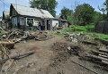 Правоохранители у одного из частных домов в Ростовской области