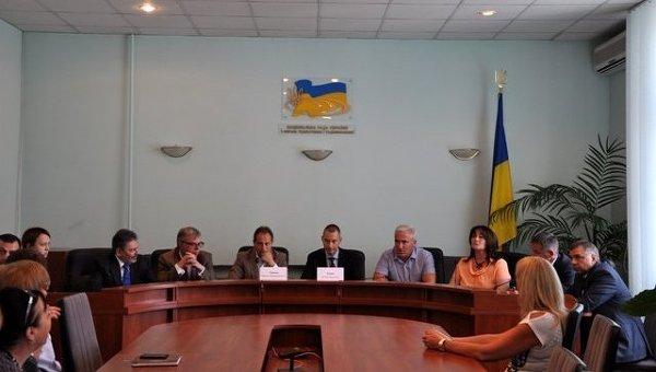 Заседание Нацсовета Украины по вопросам ТВ и радиовещания
