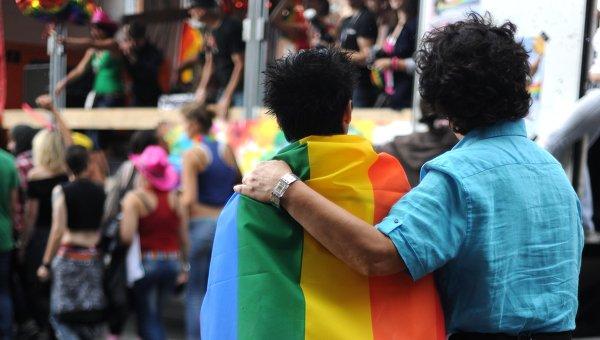 Гомосексуальные отношения. Архивное фото