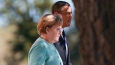 Ангела Меркель и Барак Обама. Архивное фото