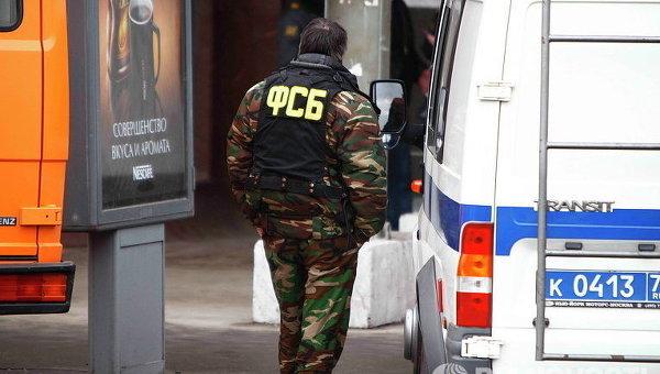 Работник ФСБ, архивное фото