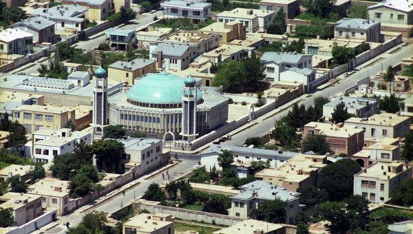 Вид на город Кабул. Архивное фото