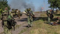 Ополчение Донецкой области. Архивное фото