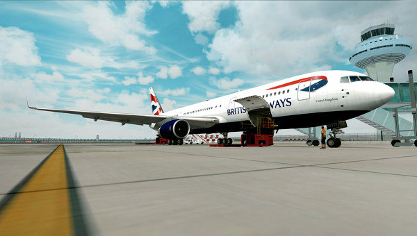 Самолет Boeing 767 British Airways. Архивное фото