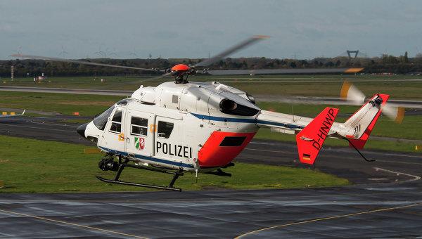 Вертолет немецкой полиции, архивное фото
