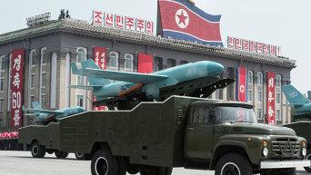 КНДР, Пхеньян. Архивное фото