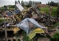 Поисковые работы на месте крушения Boeing 777 в Украине. Архивное фото