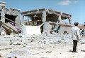 Разрушенные дома в Триполи. Архивное фото