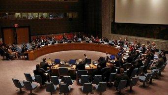 Заседание постоянных членов СБ ООН. Архивное фото