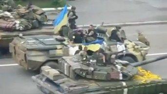 Силовики заняли Дзержинск. Видео