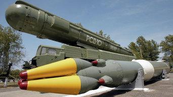 Баллистическая ракета с ядерной боеголовкой РСД-10 Пионер. Архивное фото