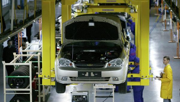 На заводе автоконцерна General Motors. Архивное фото