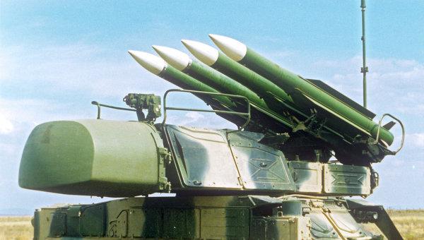 Зенитный ракетный комплекс БУК-М1