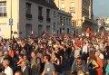 Во Франции прошли демонстрации против военной операции Израиля в секторе Газа. Видео