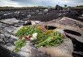 Тела погибших вывозят с места аварии Boeing 777