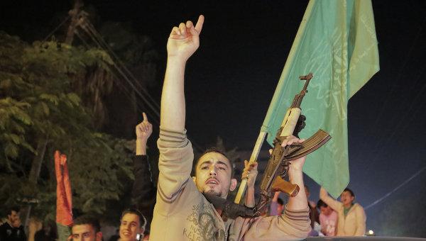 Сторонники движения ХАМАС. Архивное фото