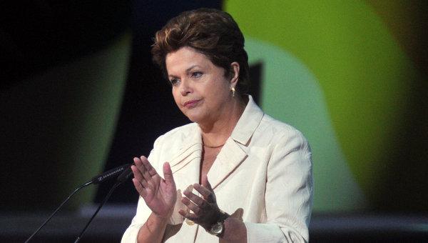 Президент Бразилии Дилма Руссефф. Архив