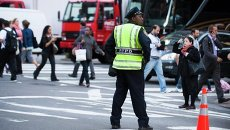 Меры безопасности в Нью-Йорке, архивное фото