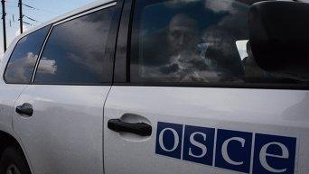 Автомобиль наблюдателей ОБСЕ. Архивное фото