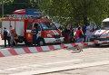 Автомобили пожарной службы и скорой помощи. Архивное фото