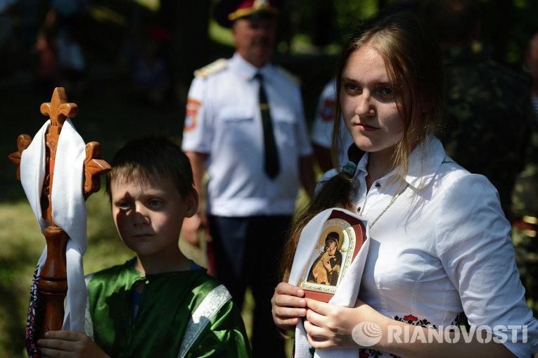 Литургия и крестный ход по случаю Дня Крещения Киевской Руси