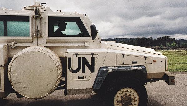 Миротворцы ООН. Архивное фото