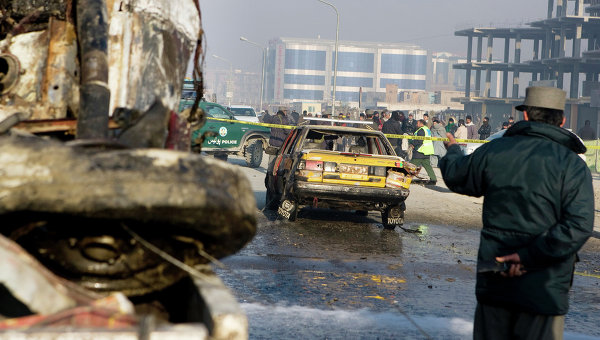 Взрыв в Кабуле. Архивное фото