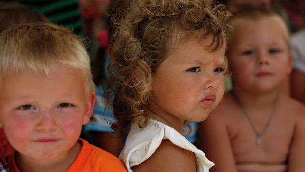 Дети в Украине