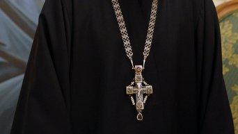 Священник православной церкви. Архивное фото