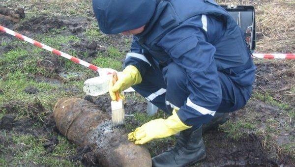 Пиротехник Госслужбы Украины по чрезвычайным ситуациям
