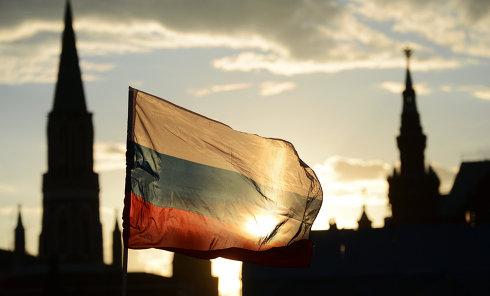 Российский флаг. Архивное фото