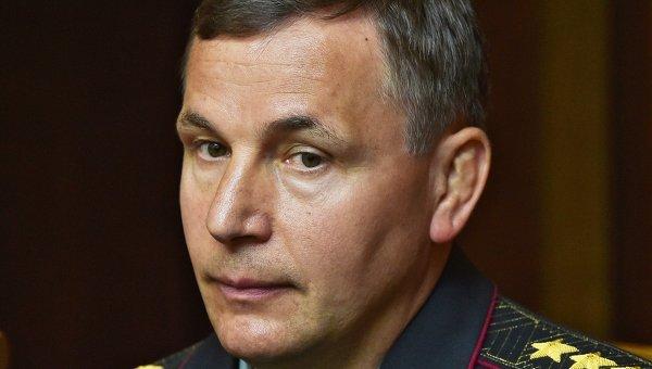 Глава Минобороны Украины  Валерий Гелетей