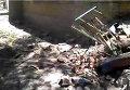 В Луганске снаряд попал в детский сад. Видео
